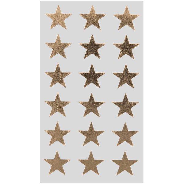 Paper Poetry Sticker Sterne gold 18mm 4 Bogen