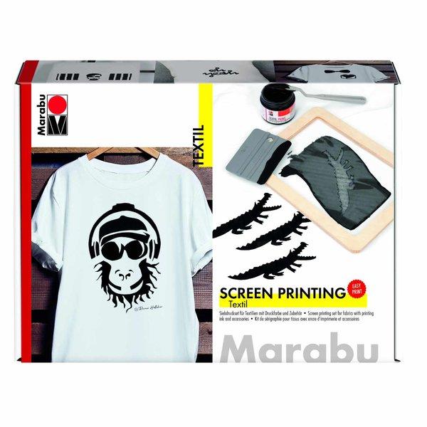 Marabu Textil Print Screen Siebdruck Set
