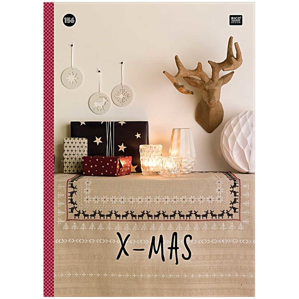 Rico Design Stickbuch Nr.156 X-MAS