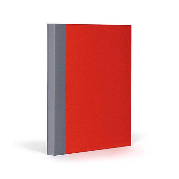 FANTASTICPAPER Notizbuch A5 liniert cherry-grey