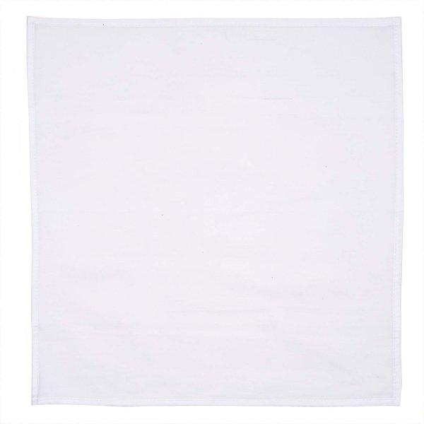 Rico Design Tischdecke weiß 90x90cm