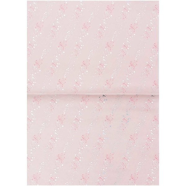 Rico Design Paper Patch Papier Mermaid Luftblasen rosa 30x42cm
