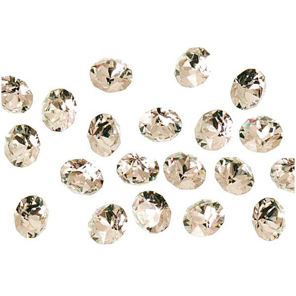 Swarovski® Strass-Steine spitz crystal 2mm 20 Stück