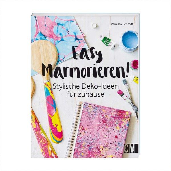 Christophorus Verlag Easy Marmorieren! Stylische Deko-Ideen für zuhause