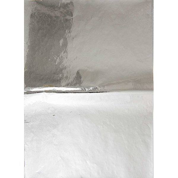 Rico Design SB Paper Patch Papier silber 30x42cm 3 Bogen Hot Foil