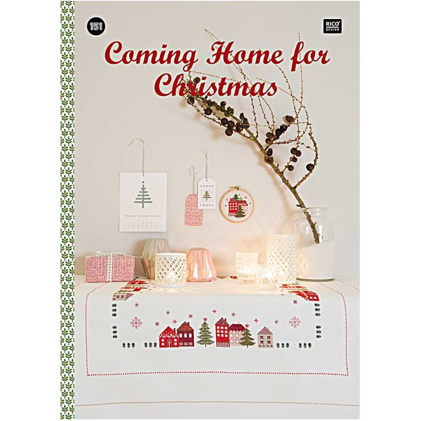 Rico Design Stickbuch Coming home for Christmas Nr.151