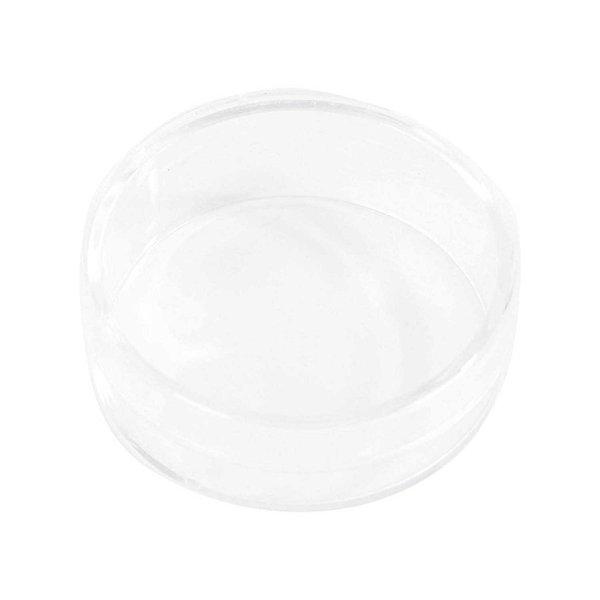 Rico Design Kunststoffdose transparent 3,5x3cm