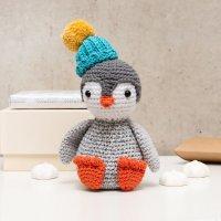 Häkelanleitung Ricorumi CAL Pinguin