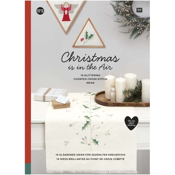 Rico Design Stickbuch Christmas is in the air Nr. 172