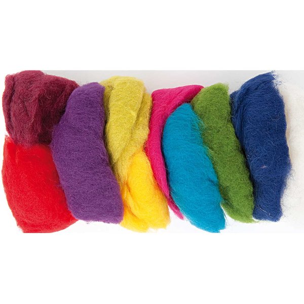 Rico Design Schafwolle Mix mehrfarbig 100g