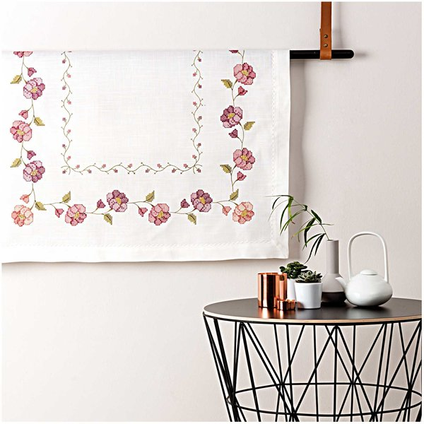 Rico Design Stickpackung Decke Astern 90x90cm