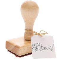 Rico Design Stempel Merry Christmas 7x4cm