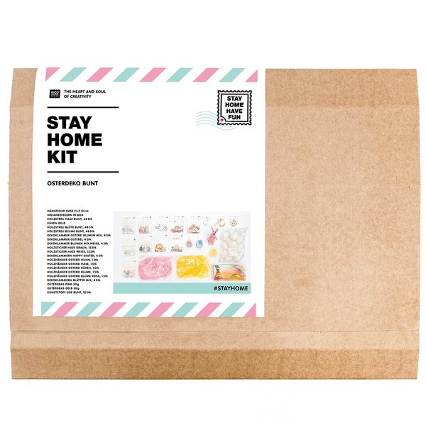 Rico Design #stayhome Kit Osterdekoration Bunt