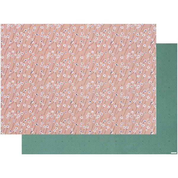 Paper Poetry Motivkarton Blumenranken 50x70cm