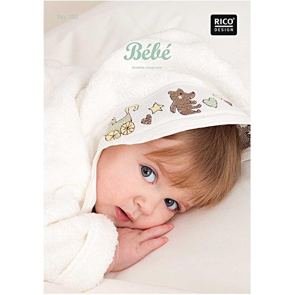 Rico Design Stickbuch Bébé Nr.133