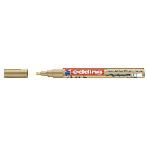 edding 753 calligraphy paintmarker gold 1-2,5mm
