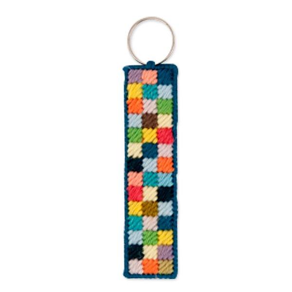 Rico Design Stickpackung Schlüsselanhänger