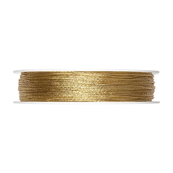 Kordel gold 1mm 30m