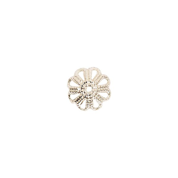 Jewellery Made by Me Perlkappe silber 8mm 10 Stück