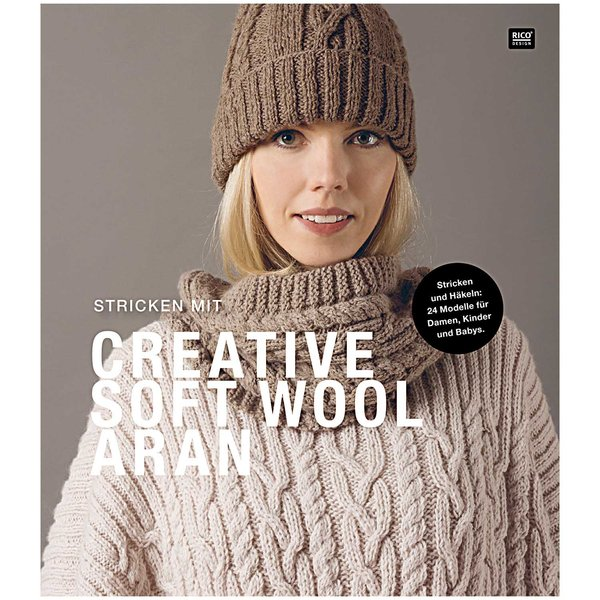 Rico Design Stricken mit Creative Soft Wool Aran