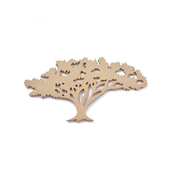 Rico Design MDF Baum 10,5x19x0,5cm