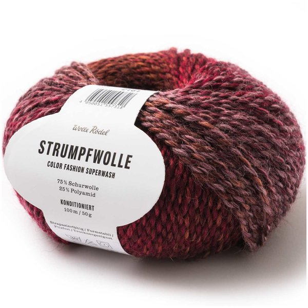 Wolle Rödel Strumpfwolle Color Fashion 50g 100m