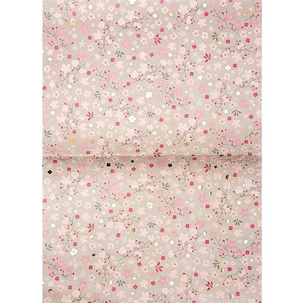 Rico Design Paper Patch Papier Kirschblüten 30x42cm Hot Foil