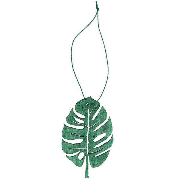Hänger Blatt grün 10cm