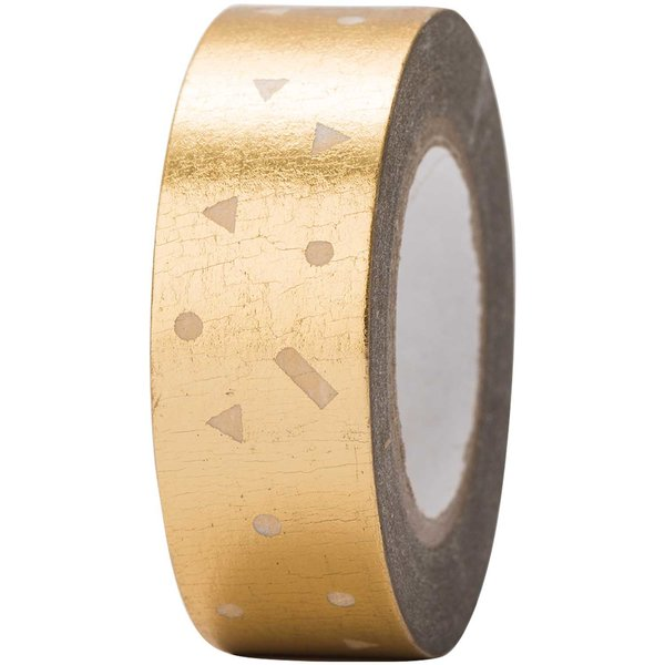 Paper Poetry Tape Konfetti gold 15mm 10m Hot Foil