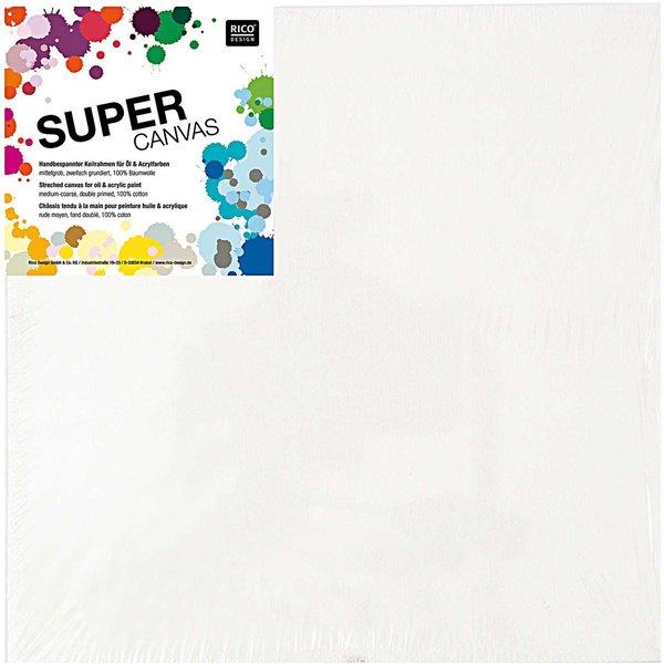 Rico Design Super Canvas Keilrahmen 3er Set 40x40cm