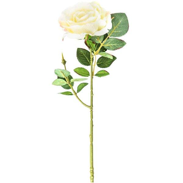 Rose weiß 33cm