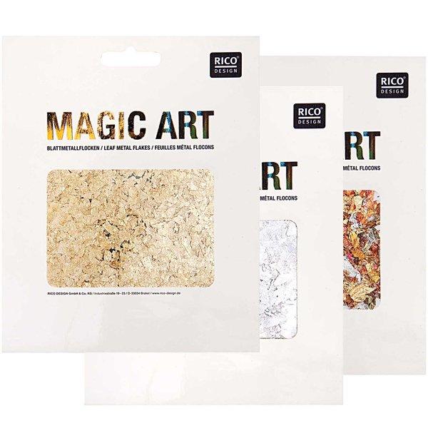 Rico Design Magic Art Blattmetall-Flocken