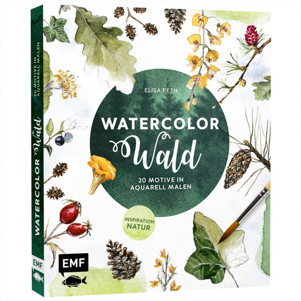 EMF Watercolor Wald