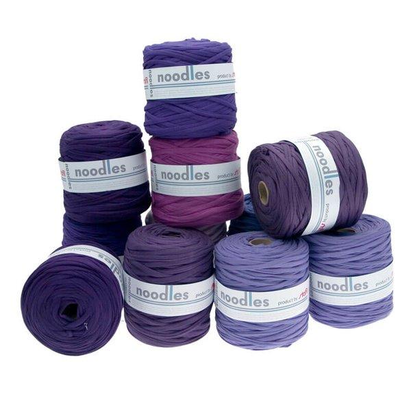 noodles Textilgarn Violett-Töne ca. 500-700g