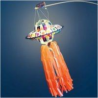 Rico Design Bastelset Ufo-Laterne rot 17teilig