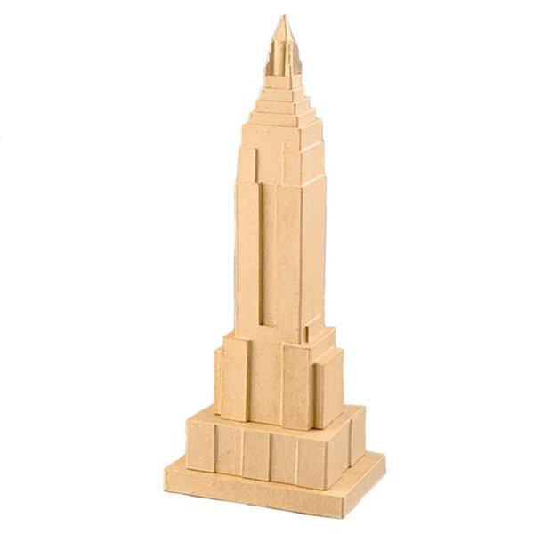 efco Pappmaché Empire State Building 17x12x42,5cm