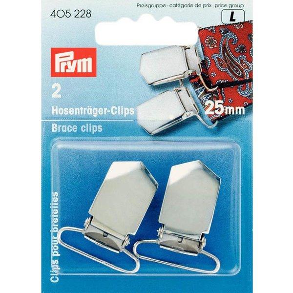 Prym Hosenträger Clips 25mm 2 Stück