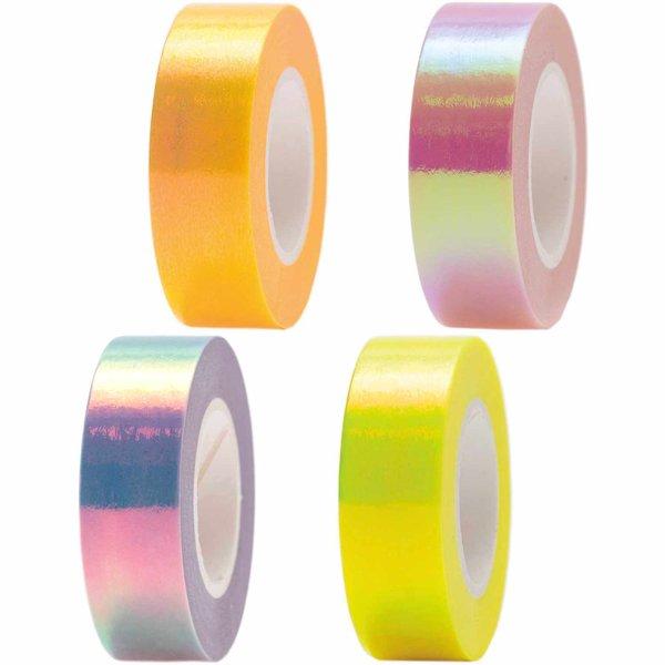 Paper Poetry Tape irisierend 15mm 10m