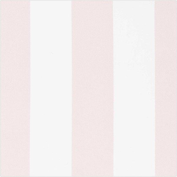 Rico Design Druckstoff Canvas  Streifen weiß-rosa 140cm