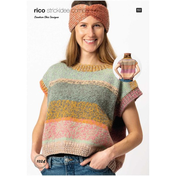 Rico Design Strickidee Compact Nr.1024 Creative Chic Unique