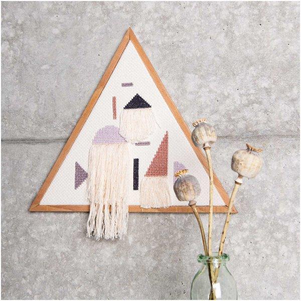 Rico Design Stickpackung Dreieck geometrische Formen