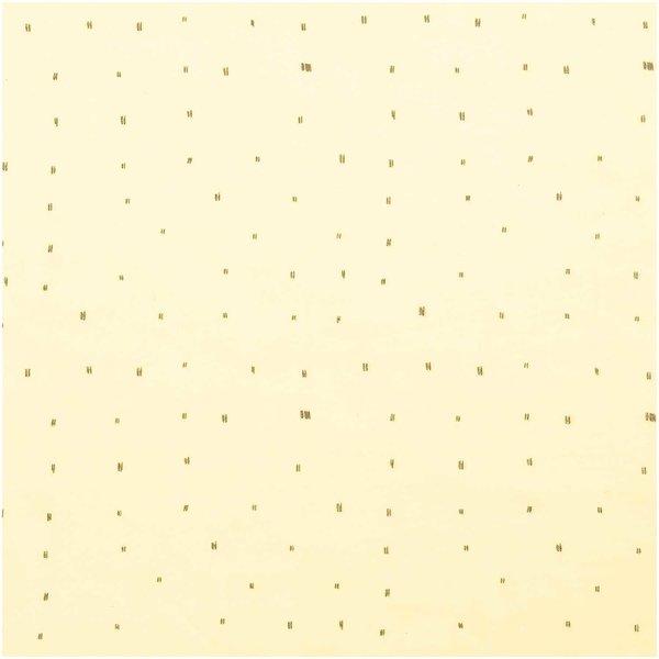 Rico Design Musselin-Druckstoff Nature Matters Striche gelb-grau 50x140cm
