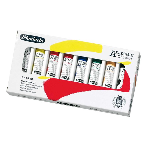 Schmincke Akademie Öl Color Set 8x20ml