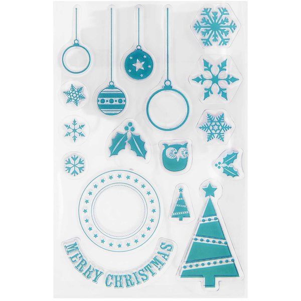 Paper Poetry Silikonstempel Merry Christmas 17 Motive