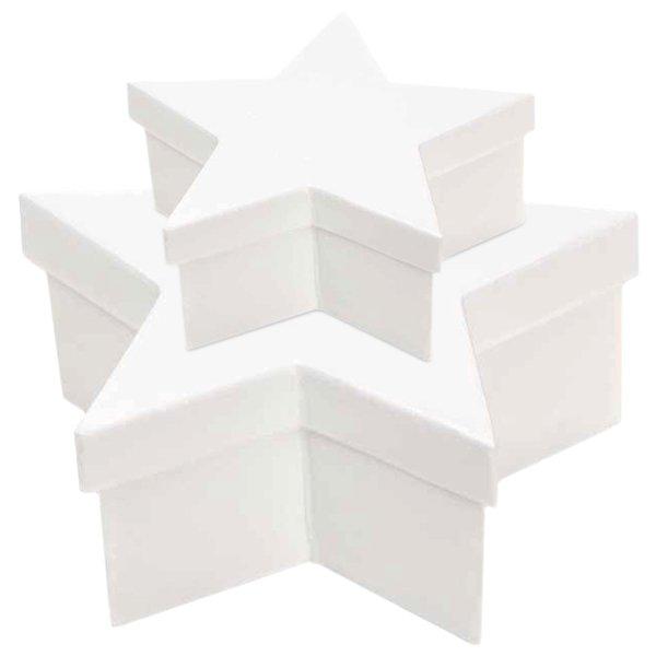 Rico Design Sternbox weiß