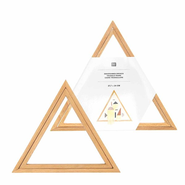 Rico Design Dekostickrahmen Dreieck