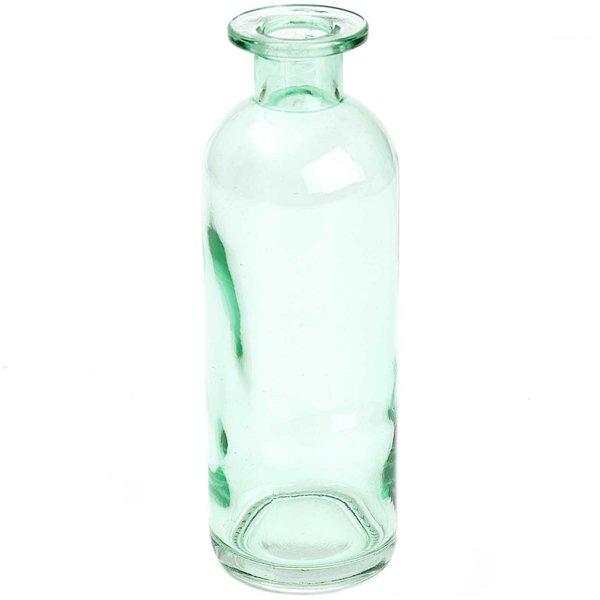 Flasche blau-grün 16x5,5cm