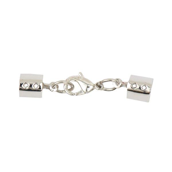 Jewellery Made by Me Lederbandverschluss silber 5mm