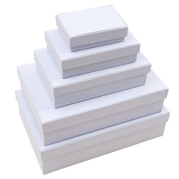 Rico Design Rechteckbox weiß