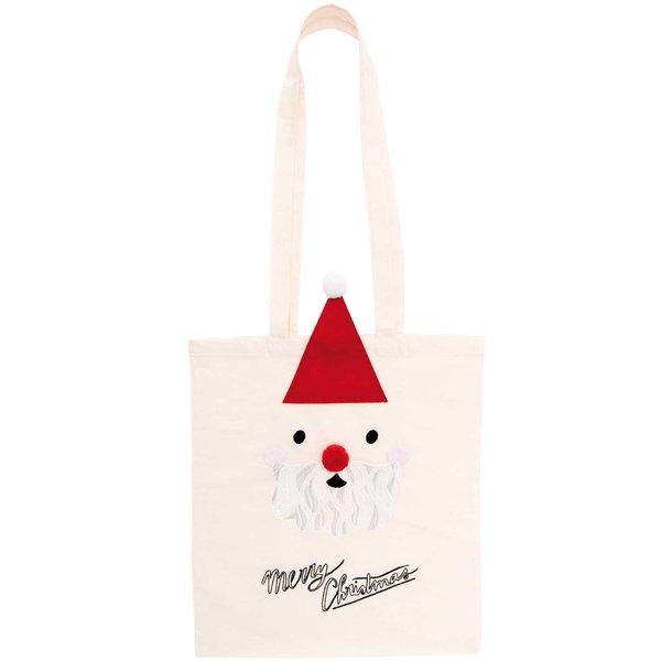 Rico Design Stickpackung Tasche Weihnachtsmann 38x42cm